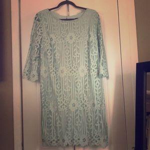 Light blue Liz Claiborne dress